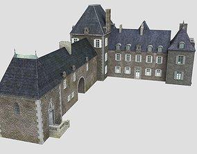 French XVIIIth century manor 3D
