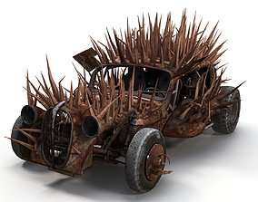 3D asset Plymouth Rock Fury Road
