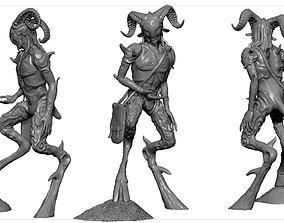 sculpture Faun 3D print model