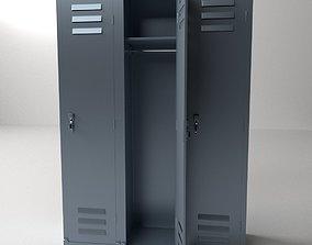 Locker 3D model gym