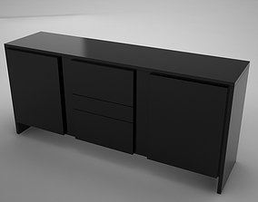 coffe table square 3D asset