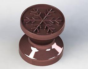 3D Mold Christmas Snowflake