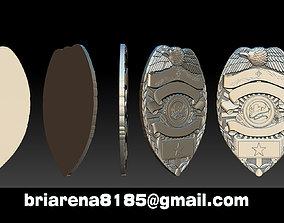 Tucson Arizona Badge - 3D Badges Collection jewellery