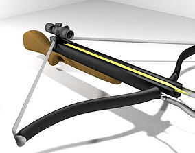 Crossbow - Recurve 3D model