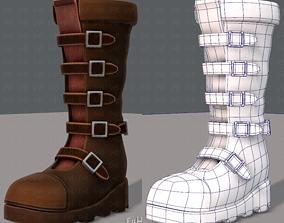 Shoes cartoonV24 3D asset