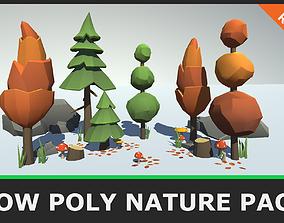 3D asset Low Poly Seasonal Nature Pack