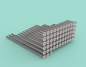 NAS1153 Full set of screws 63 pcs 3D printable model