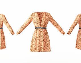 Female Clothing 05 3D asset