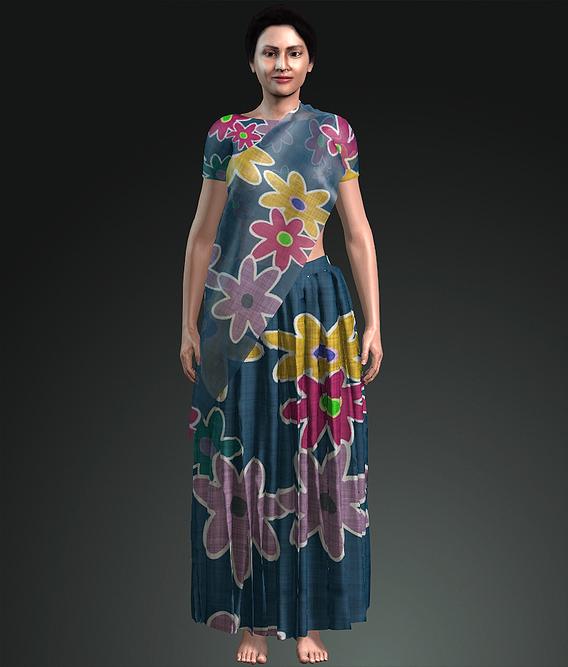 Bangladeshi Woman Cloth