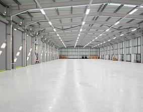 3D asset Warehouse Interior 2b