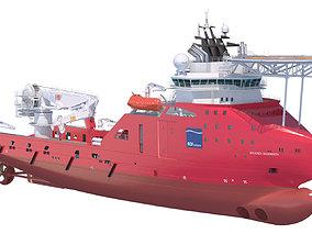 Construction Anchor Handling Vessel SKANDI SKANSEN 3D