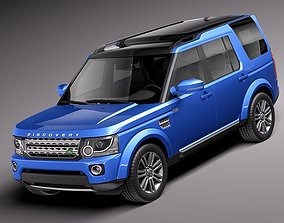 Land Rover Discovery 2014 3D suv