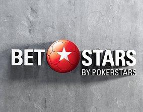 3D asset BetStars Logo