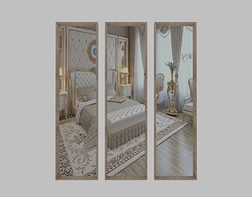 3D Large wall mirrors