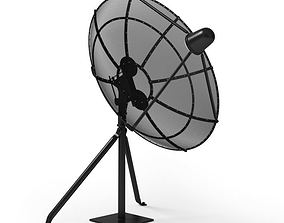 3D model Retro Home Antenna Dish