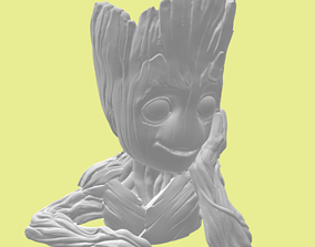 Baby Groot from Guardians of the Galaxy - 3d print model