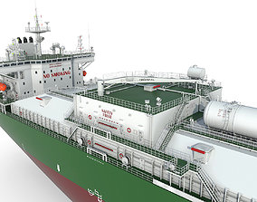 Products Tanker Green 3D model