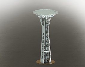 Space Needle 3D print model