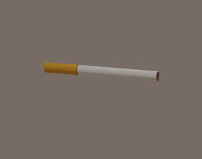 Cigarette 3D model game-ready