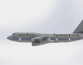 Military plane 3D printable model
