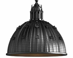 3D Seletti CUPOLONE Direct light resin pendant lamp