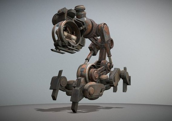 Mech Neck Walker Design