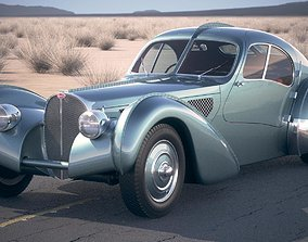 Bugatti Type 57SC Atlantic 1938 DesertStudio 3D