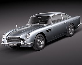 3D Aston Martin DB5 - 1963