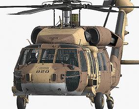 UH-60 YANSHUF Israel 3D model realtime