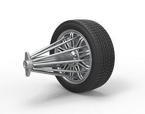 Diecast slab wheel Scale 1 to 3D printable model