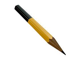 3D model Pencil 02