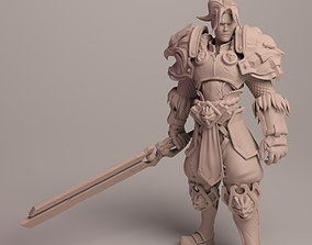 King Varian Wrynn based fan art 3D print model