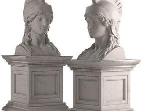 Athena Bust 3D model