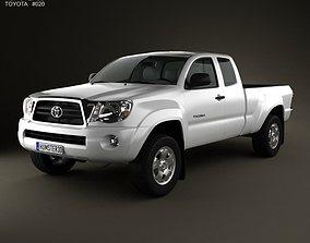 Toyota Tacoma Access Cab 2011 3D