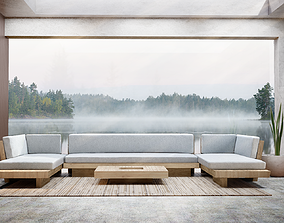 3D Outdoor Plateau Furniture Collection by