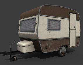 Caravan Trailer 3D model