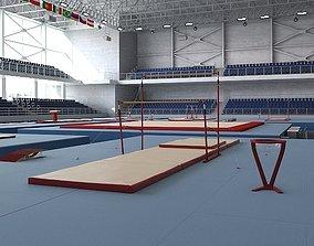 3D Gymnastics Arena