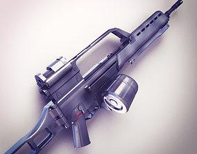 3D model G36 Assault rifle Hi-Res
