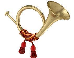 3D model Post Horn