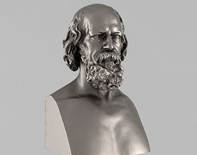 Printable bust of Tennyson - 2