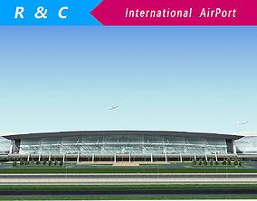 International Airport 3D model