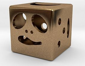 house pendant 3D print model Dice