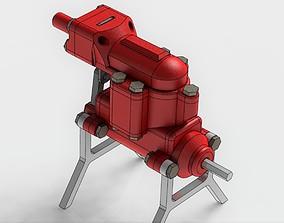 2 Cylinder Air Engine WORKING model