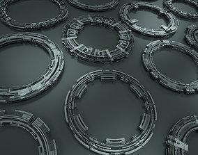 Tech Circles TC4 3D model PBR