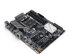 3D model Asus Prime X 370 Pro