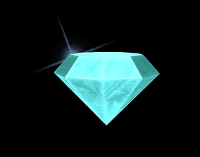 3D asset realtime Diamond