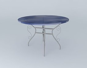 3D model Dining table Tuscany houses the world