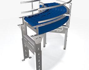 Conveyor - Zipline RLCDC 3D model