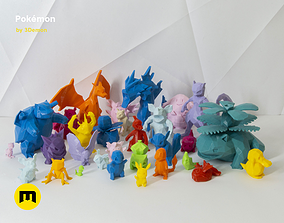 3D printable model 30 Lowpoly Pokemon