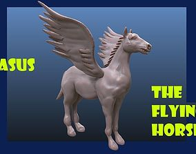Pegasus horse greek 3D